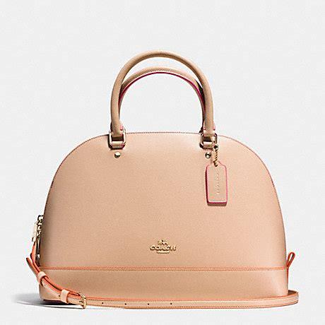 Coach Mini Beechwood coach f38404 satchel in multi edgepaint leather