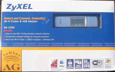 Finder Ucsb Zyxel Ag 225h Wi Fi Finder And Usb Wireless Adapter Review