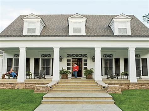 front porch home plans brick house plans with front porch country style and balcony luxamcc