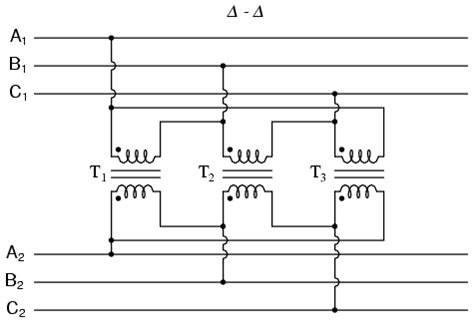 three phase transformer circuits polyphase ac circuits