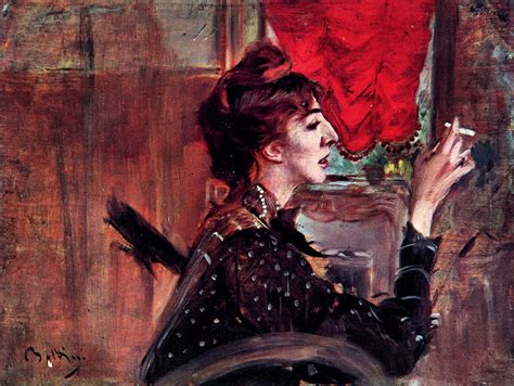 The Red Curtain   Giovanni Boldini   WikiArt.org