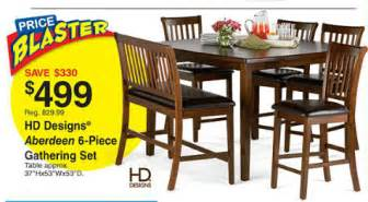 Fred Meyer Dining Table Fred Meyer Ad 4 7 4 13 Savings Sale