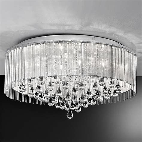 Ceiling Lights Uk Sale Franklite Spirit 8lt Ceiling Light In Chrome Lichfield Lighting