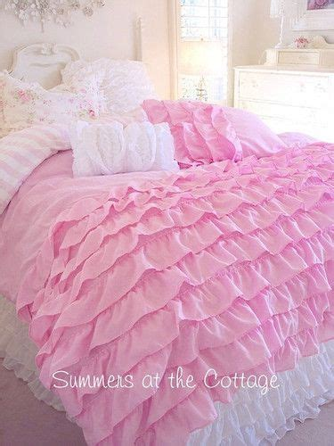 twin xl dorm room bedding dreamy pink ruffles shabby