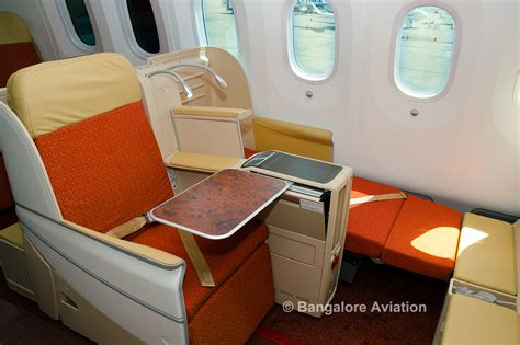 air india business class seat numbers photos and air india s boeing 787 8 dreamliner