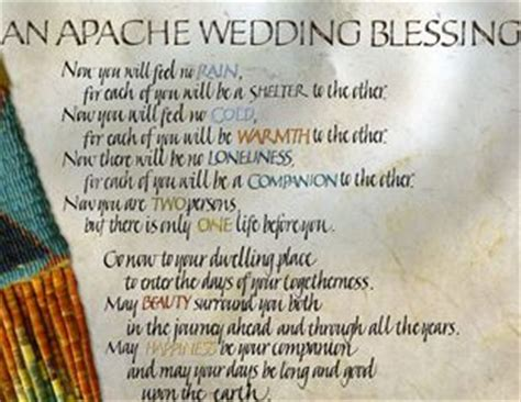 apache indian wedding blessing wedding blessing and wedding on pinterest