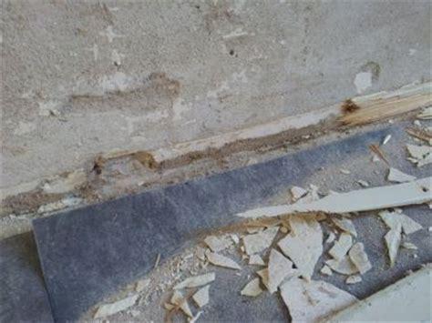 plinten lijmen of schroeven plint verwijderen zware spijkers blijven achter in muur