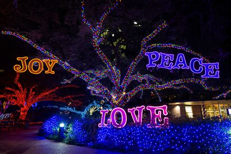 Houston Zoo Txu Energy Presents Zoo Lights Zoo Lights Discount Tickets For Zoo Lights Features Light Decor