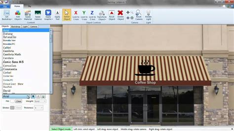 Awning Composer by Awning Composer 5 Quickstart Guide Part 3