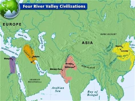 world map river valley civilizations wheeler the ancient river civilizations