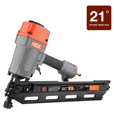 100 pneumatic floor nailer home depot husky 1 in