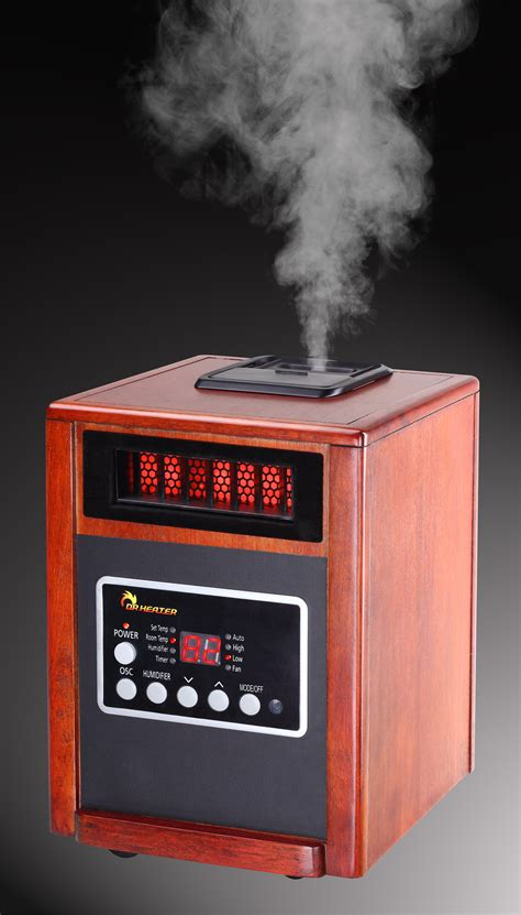 infrared room heaters new 1500 w portable infrared space heater humidifier electric 1500w the best ebay