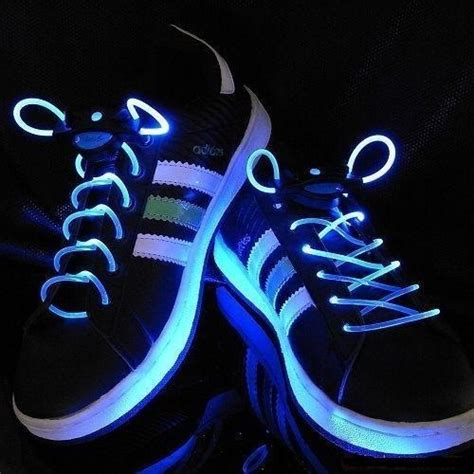 Gadget Of The Day Led Light Up Shoelaces Ufunk Net Light Up Shoe Strings