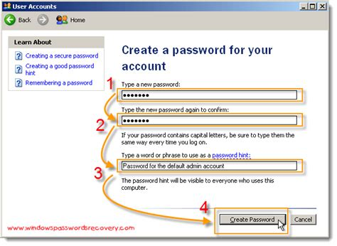 reset password xp safe mode set a password for safe mode in windows xp restrict the
