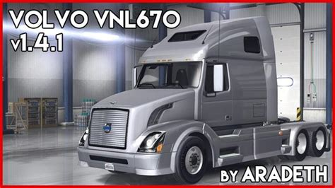 volvo vnl   ats truck   aradeth american truck simulator mod ats mod