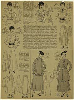 1915 skirt