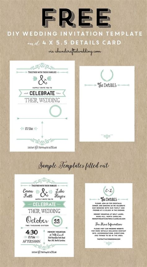 hp templates for invitations diy wedding invitations templates sadamatsu hp