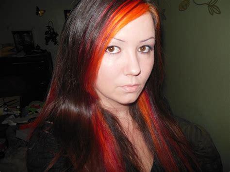 how to crimson obsession works splat orange fireballs and crimson obsession orange hair