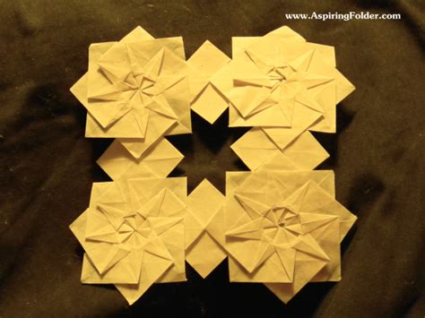 Origami Flower Patterns - the best origami paper stores origami funcom