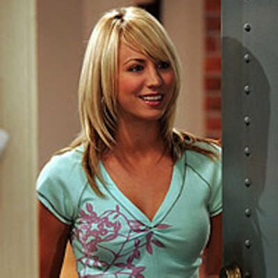 hairstyles for the character penny on the big bang theory the women of the big bang theory season 1 just