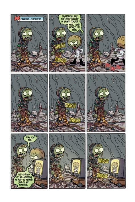plants vs zombies volume 6 boom boom plants vs zombies 11 preview horror news network