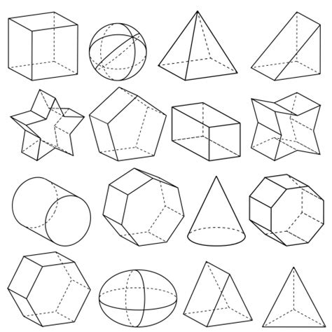 How To Make 3d Geometric Shapes Out Of Paper - geometry 3d shapes kidspressmagazine
