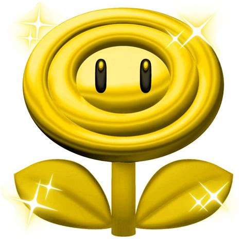 Bros Gold Flower B43547 17 best images about kinds of power ups on