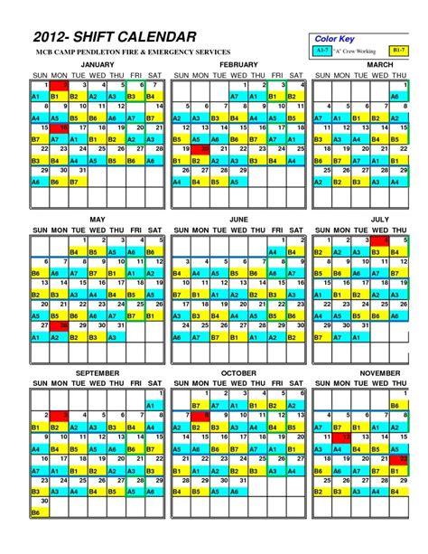 48 96 firefighter schedule calendar 2017 calendar printable