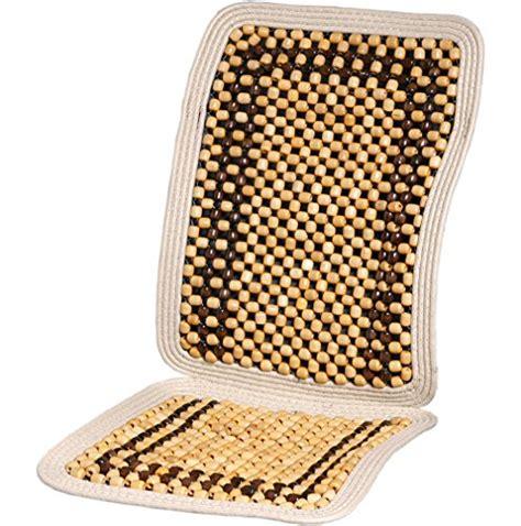 wood beaded seat cushion kool kooshion 60 2931 wood beaded seat cushion