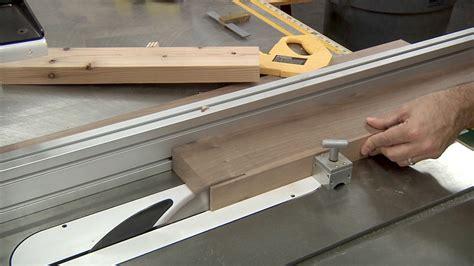 How Thin A Strip Makes A Haircut A Mohawk   cutting thin strips at the table saw