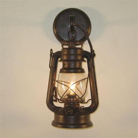 Rustic Sconces small rustic lantern wall sconce
