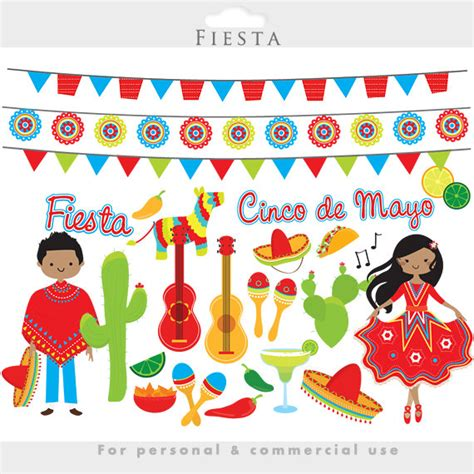 clipart festa clipart mexican cinco de mayo flags