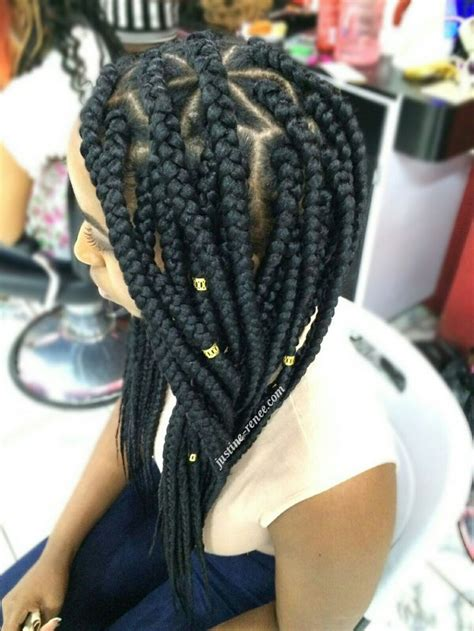 how to do triangle parts for hair braiding jumbo box braids 3 florida pinterest hairstyles