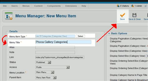 phoca gallery themes joomla 2 5 link to a listing of your phoca gallery image categories