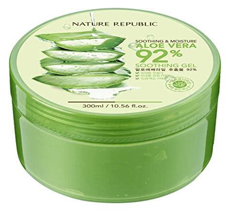 Naturale Republic Aloevera New Gel Korea nature republic aloe vera 92 soothing gel review all you