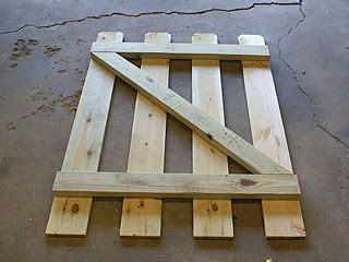 build  small gate   backyard fence backyard