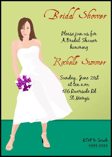 Post Wedding Invitation Sles by Free Bridal Shower Invitations Wedding Invitation