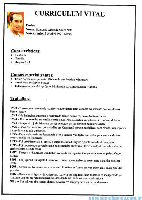 Modelo De Curriculum Para Kfc Exemplos De Curriculum Vitae Foto N 227 O Usar Aula De Portugu 202 S Exemplos De