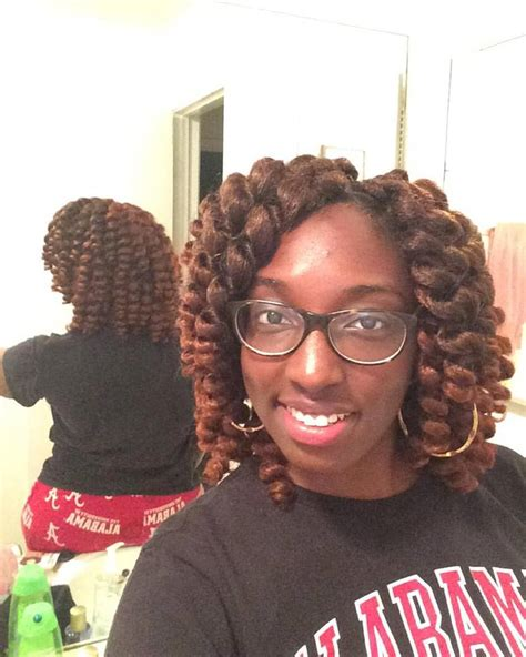 jamaican bounce crochet hair install and then separate curls protectivestylechallenge part 2 jamaican bounce hair