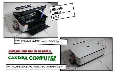 Printer Canon Lengkap Dengan Foto Copy cara memasang infus printer canon mp 287 surya computer makassar