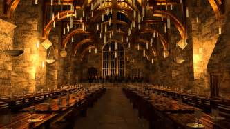 Hogwarts Interior Hogwarts Great Hall Youtube