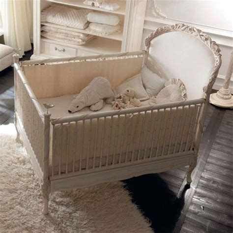 Luxury Cribs by Dolce Notte Crib In Antique White Cribs Painted Cribs