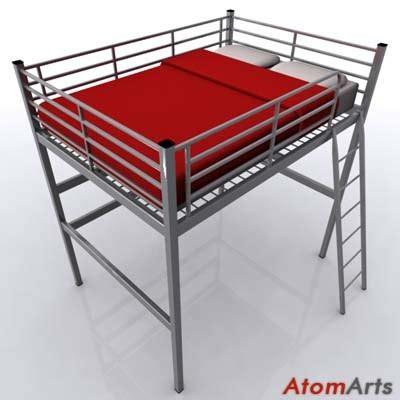 Tromsö Loft Bed Frame Image Gallery Ikea Tromso