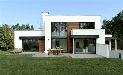 Interieur Maison Cubique by Architecture Cubique D Une Maison Dans Le Nord Pouwels
