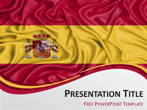 Backgrounds Powerpoint 2016 Wallpaper Cave Spain Flag Template