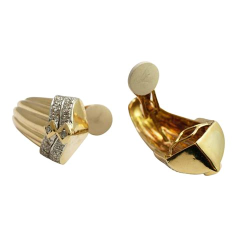 Clip On Earrings Earrings 18ct gold and clip on earrings plaza jewellery