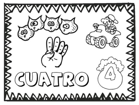 printable coloring pages in spanish free spanish numbers coloring pages