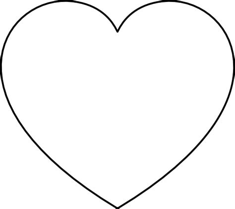 clipart heart coloring page broken heart coloring pages clipart best