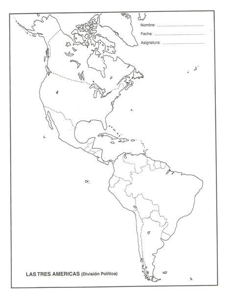 mapa america con division politica mapa de america con division politica nombres imagui