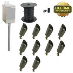 Landscape Lighting Kits Low Voltage Low Light Highlighting Kits Brown Hairs